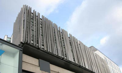 Lyric Theatre - Profiled Aluminium