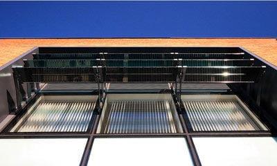 Open University - Glass Fins