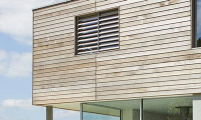 Sussex House, Sliding Shutters
