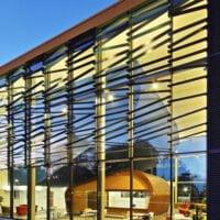 Peterborough University - Angled Fins
