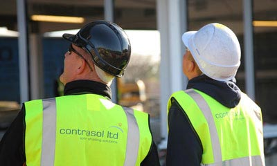 Contrasol on site