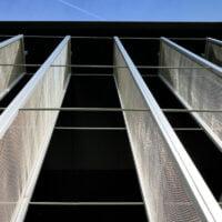 Bedford Modern School - woven mesh